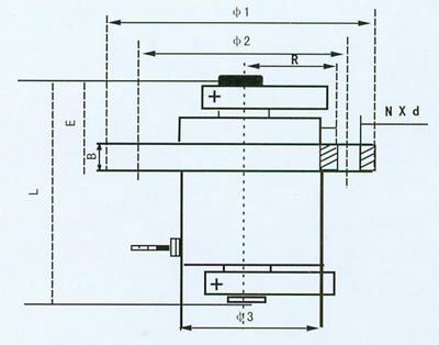 立式振動電機